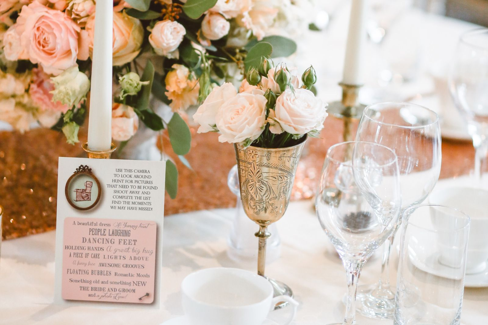 wedding trends table setting