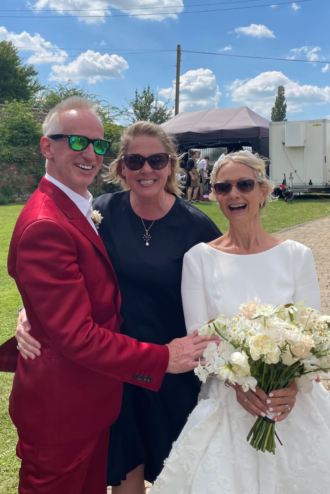 wedding ceremony, couple with Bristol celebrant Tara Health-Arnold
